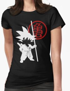 Little Goku Womens Fitted T-Shirt