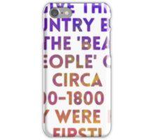 Beaker People iPhone Case/Skin