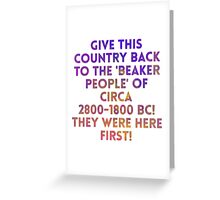 Beaker People Greeting Card