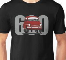 Fiat 600 red Unisex T-Shirt