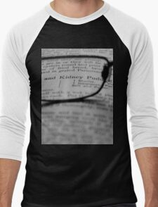 Recipe Book Men's Baseball ¾ T-Shirt