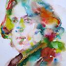 OSCAR WILDE - watercolor portrait.15 by lautir