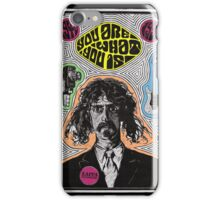 Tribute to Frank Zappa iPhone Case/Skin