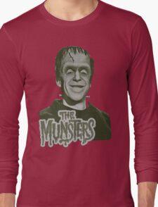 Herman Munster The Munsters Classic TV Long Sleeve T-Shirt
