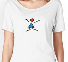 h A p p y  ! Women's Relaxed Fit T-Shirt
