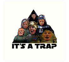 The Brexit Trap Art Print