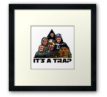 The Brexit Trap Framed Print