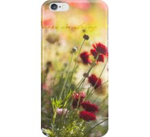 ~ flowers in spring ~ iPhone Case/Skin