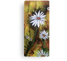 Forest Daisies  Canvas Print