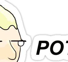 POTTER. Sticker