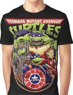 Avenger Turtles Graphic T-Shirt