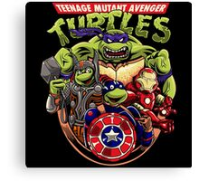 Avenger Turtles Canvas Print