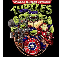 Avenger Turtles Photographic Print