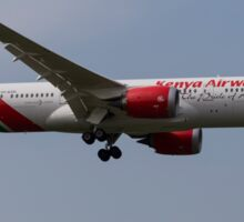 Kenya Airways Boeing 787 Sticker