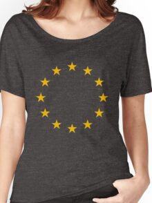 European Union Flag Women's Relaxed Fit T-Shirt