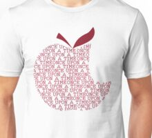 Once Upon A Time Upon An Apple Unisex T-Shirt