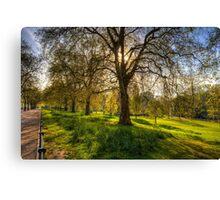 St James Park London Canvas Print