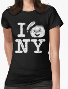 I Love This Town Womens Fitted T-Shirt
