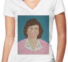 Evelyn Women's Fitted V-Neck T-Shirt