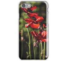 ~ field of poppies ~ iPhone Case/Skin