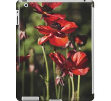 ~ field of poppies ~ iPad Case/Skin