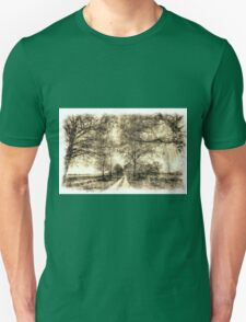 The Summer Farm Track Vintage Unisex T-Shirt