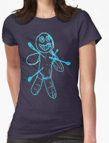 Sackman - Ouch (Blue) Womens Fitted T-Shirt