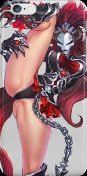Manga Girl Concept Art 4 by BitGem