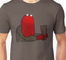 Don't  Hug me I'm Scared | Red Puppet (Pixel art 128x128) Unisex T-Shirt