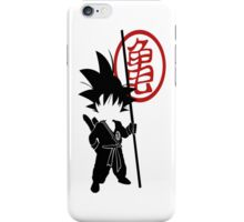 Goku with tail iPhone Case/Skin