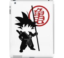 Goku with tail iPad Case/Skin