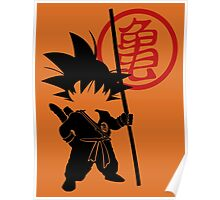 Goku with tail Poster