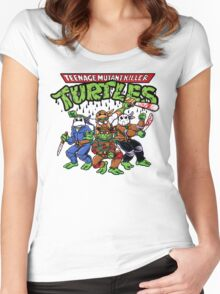 Killer Turtles Women's Fitted Scoop T-Shirt