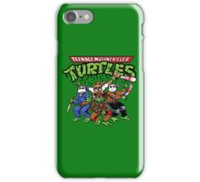 Killer Turtles iPhone Case/Skin