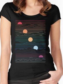 Many Lands Under One Sun Women's Fitted Scoop T-Shirt