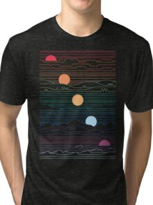 Many Lands Under One Sun Tri-blend T-Shirt