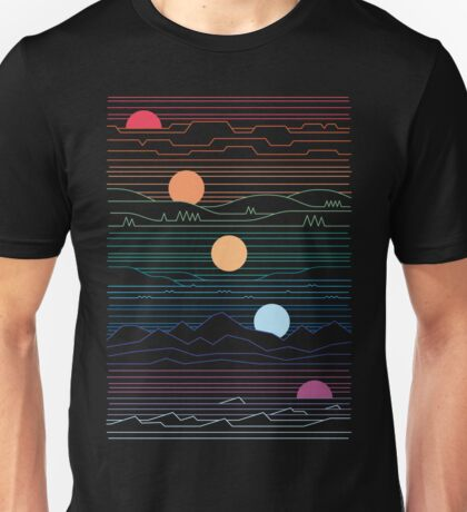 Many Lands Under One Sun Unisex T-Shirt