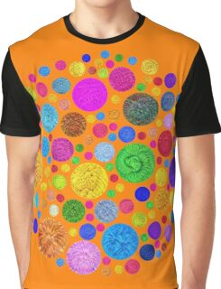 #DeepDream Color Circles Visual Areas 4x4K v1448872458 Graphic T-Shirt