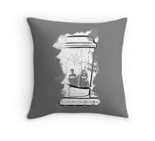 It's Not About The Books Anymore Throw Pillow