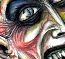 nosferatu the vampire Sticker