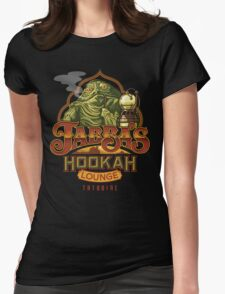 Jabba's Hookah Lounge Womens Fitted T-Shirt
