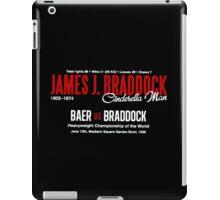 James Braddock Cinderella Man iPad Case/Skin