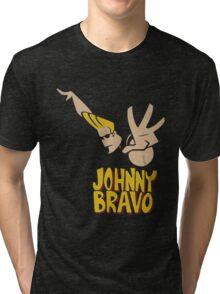 Johny Bravo Tri-blend T-Shirt