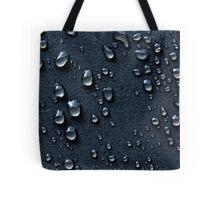 Rain on Asphalt Tote Bag