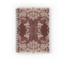 Vintage Lace Rug Design Spiral Notebook