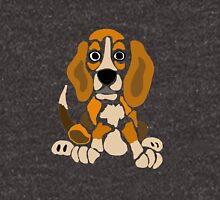 Cool Funny Funky Beagle Puppy Abstract Art Unisex T-Shirt