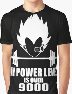 my power level over 9000 Graphic T-Shirt