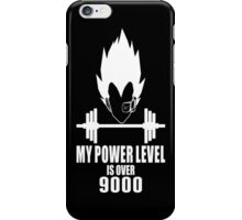 my power level over 9000 iPhone Case/Skin