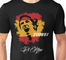 SPAIN FERNANDO TORRES WC 14 FOOTBALL T-SHIRT Unisex T-Shirt