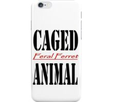 Caged Animal iPhone Case/Skin
